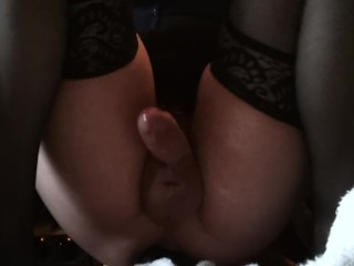 Railing a adorable fuck stick... Witness for the sissygasm